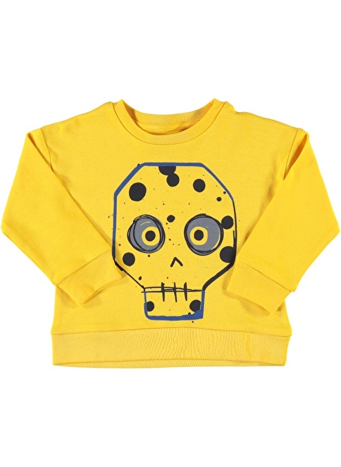 Wakamono Organik Sweatshirt Sarı